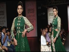 Gauhar Khan's stunning ramp walk at Lakme Fashion Week 2014.