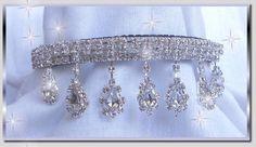 Jennifer In Diamonds Rhinestone Dog Collar Dog Wedding Dress, Rhinestone Dog Collar, Diamond Dogs, Puppy Collars, Black Velvet, Clear Crystal, Sparkle, Bows, Diamonds