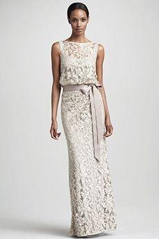 Sheath/Column Bateau Floor-length Lace Mother of the Bride Dress