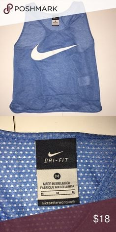 Nike tank top Mesh Nike tank top workout shirt worn a couple times in great condition Tops Tank Tops