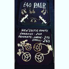 New #celticknot range available at my stall @brightonopenmarket...