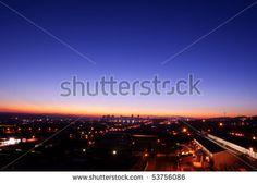 Sunrise over Pretoria.
