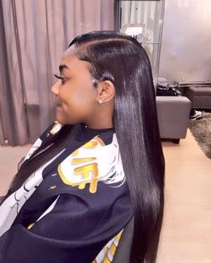 Shop Best Human Hair Wigs for Black Women,Lace Wigs for African American with Factory Cheap Price, DHL Worldwide Shipping,Big Promosion and Store Coupons Available Black Girls Hairstyles, Pretty Hairstyles, Straight Hairstyles, Side Part Hairstyles Weave, Relaxed Hair, My Hairstyle, Wig Hairstyles, Curly Hair Styles, Natural Hair Styles