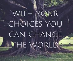 'With your choices you can change the world.' // NBB Recycled Furniture