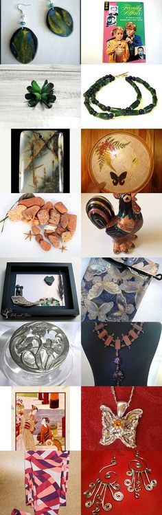 My See trrought pouch featured >>>> Whiling away time by Suzanne Edwards on Etsy--Pinned with TreasuryPin.com