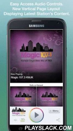 Magic 107.3 KMJK  Android App - playslack.com ,  Never be without your favorite radio station. Magic 107.3 KMJK is proud to present our OFFICIAL radio app. Listen to us at work, home or on the road. Install our app and get instant access to our unique con