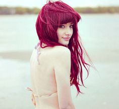 KAYAK MONJET: Dark Red Hair Color Ideas For 2011