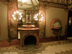 The Georges Fouquet Jewelry Shop, designed by Alphonse Mucha and Georges Fouquet.