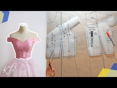Hey DIY Fam, this video is a pattern tutorial in which I make an off-shoulder bodice pattern. I develop this design from my basic bodice patterns here https:. Super dress pattern sewing off the shoulder 23 Ideas Dress Sewing Patterns, Clothing Patterns, Pattern Sewing, Free Pattern, Off Shoulder Diy, Shoulder Sleeve, Robe Diy, Blouse Tutorial, Bodice Pattern