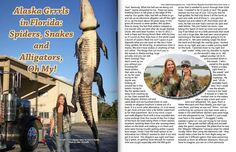 The Nov/Dec issue of Lady Hunter Magazine is now out and Prois staffer Joni Kiser has an article published in it about her spot and stalk Alligator Archery Hunt.  Prois was there!  #proiswasthere #prois     #gatorhunting www.proishunting.com