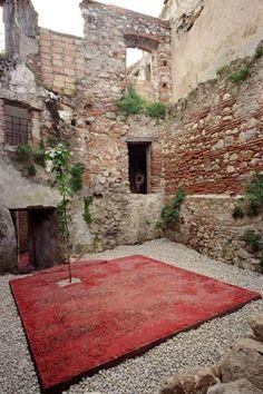 giardino concreto, Riace, 2005 - Filippo Saponaro