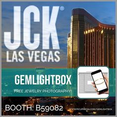 We will be exhibiting at JCK Las Vegas from the to of June!