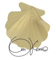 MACHINE EMBROIDERY FILE  Sea shell by OTKETO on Etsy, $5.99  #machine embroidery design #otketo
