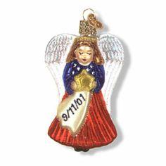 9/11 Remembrance Angel Ornament #patrioticchristmas