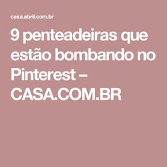 9 penteadeiras que estão bombando no Pinterest – CASA.COM.BR