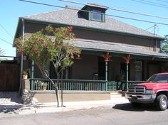 Late eighteenth century home in Tucson, Arizona from Sketch a Falling Star