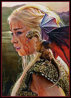 Khaleesi by DavidDeb.deviantart.com on @deviantART