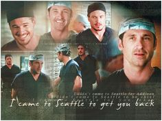 Mark Sloan and Derek Shepard from Greys Anatomy Best Bromance ever!