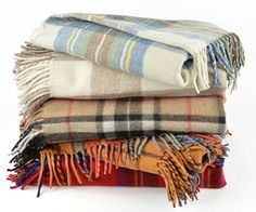 New Scottish Wool Tartan Blanket Throw Rug Gift Various Tartans Tartan, Plaid, Cable Knit Throw, Rug Material, Throw Rugs, Soft Furnishings, Hand Knitting, Home Accessories, Competition