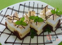 Svatební koláčky | NejRecept.cz Nutella, Rum, Cheesecake, Pudding, Baking, Food, Basket, Lasagna, Cheesecakes