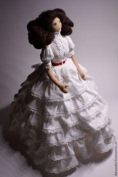 Скарлетт - тряпиенсы,кукла текстильная,кукла в подарок,портретная кукла
