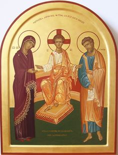 Holy Family contemporary icon by Convent of the Discalced Carmelite Nuns in Poland