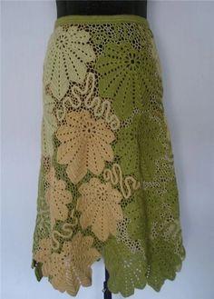 Irish lace, crochet, crochet patterns, clothing and decorations for the house, crocheted. Crochet Mandala Pattern, Freeform Crochet, Filet Crochet, Irish Crochet, Crochet Jumper, Crochet Skirts, Crochet Clothes, Lace Patterns, Easy Crochet Patterns