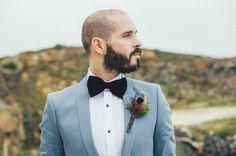 powder blue suit