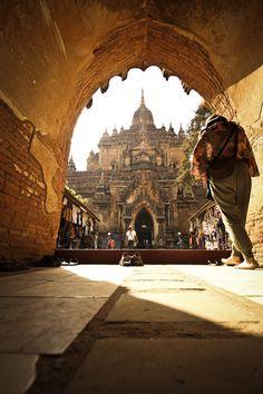 Bagan, Burma.  Beautiful photography.