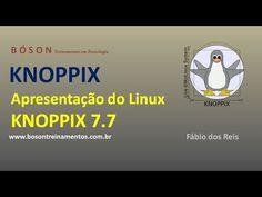#KNOPPIX 7.7 #Linux - Apresentação