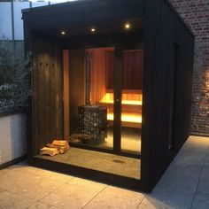 Home Spa Room, Spa Rooms, Sauna Steam Room, Sauna Room, Inglewood House, Sauna House, Hot Tub Gazebo, Outdoor Sauna, Sauna Design