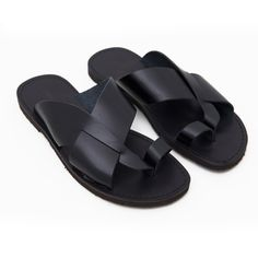 Sandalo versosud nero da uomo