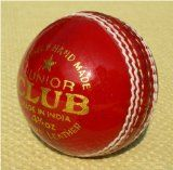 Upfront Cricket Academy UPFRONT Junior Club Cricket Ball <b> UPFRONT Junior Club Ball 4.75oz. From our exclusive range. Hand made 4 piece balls. Excellent quality traditional junior ball. Suitable for (Barcode EAN = 5055261100186) http://www.comparestoreprices.co.uk/horse-products/upfront-cricket-academy-upfront-junior-club-cricket-ball.asp