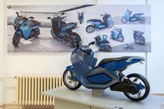 BMW electric urban scooter concept by Adam Puskas