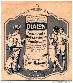 Original-Werbung/ Anzeige 1927 - DIALON  - ca. 110 X 120 mm