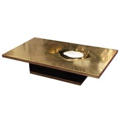 Brass coffee table b