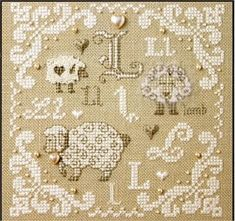 Alphabets & Borders - Cross Stitch Patterns & Kits