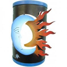 Mexican Eclipse Wall Sconce
