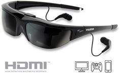 "Vuzix has a variety of prices of thes ""movie viewer"" glasses on Amazon.  The 1200DX with an upgrade kit appears to be a good choice. Think price of a large flatscreen...  there are less expensive and much more expensive versions. This is on my wish list."