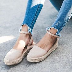 Vici Brand New Fiesta Espadrille Sandal Espadrilles Outfit, Sandals Outfit, Shoes Sandals, Sandals Platform, Cute Shoes Flats, Cute Sandals, Tan Wedge Sandals, Espadrille Sandals, Tan Wedges