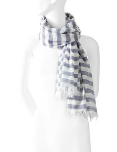 Striped Scarf from THELIMITED.com #TheLimited