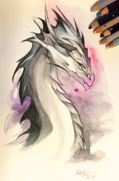 175- Highland Dragon by Lucky978.deviantart.com on @DeviantArt