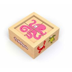 This Sea Creatures Buddy Block Set by BeginAgain is perfect! Montessori Toddler, Colorful Animals, Sea Creatures, Toy Chest, Holiday Gifts, Decorative Boxes, Invitations, Create, Toys
