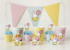 Χαρούμενα γενέθλια με το κουνελάκι Miffy!!