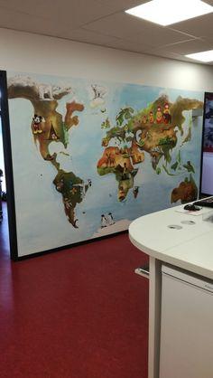 Kindertraumzimmer.de❤ Kinderzimmer Malerei Wände Gestaltung Mural  Kindergarten