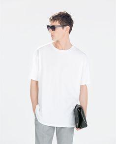 Imagine 1 din TRICOU OVERSIZE de pe Zara