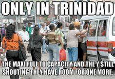 Trini Maxi Man...lol.
