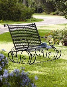 Fiddlehead Double Rocker || Would SOOO love this in my yard....