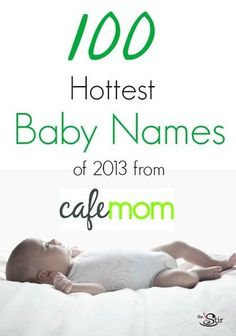 100 hottest baby nam