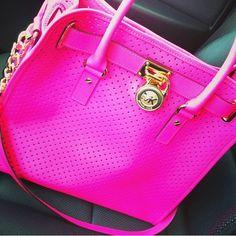 Pink Micheal Kora handbag